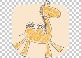 黄色背景,线路,黄色,面积,阿凡达,动物,动画片,骆驼,