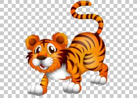 猫卡通,动画片,动物形象,尾巴,老虎,胡须,彪马,野生动物,鼻部,动