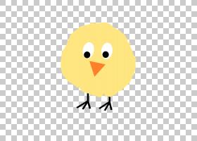卡通鸟,鸟,黄色,机翼,面积,动画片,喙,母鸡,绘图,基法朗加,鸡肉,