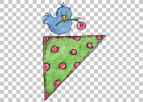 背景绿色边框,鸟,绿色,心,故事板艺术家,相框,分页,绘图,动画片,P