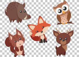 动物卡通,设计,尾巴,动物,3D计算机图形学,有趣的动物,绘图,动画
