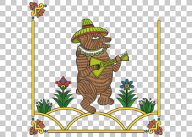 草花,动画片,草,创意艺术,树,面积,花,种,旧东斯拉夫,帽子和铃铛,