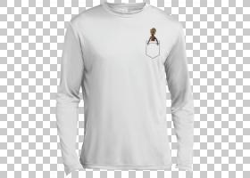 T恤袖子,运动衫,脖子,肩部,现役衬衫,T恤衫,长袖T恤,白色,棉花,拉