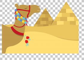 埃及金字塔牲畜,骆驼般的哺乳动物,文本,牲畜,埃及,剪影,金字塔,