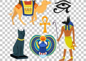 法老,线路,黄色,娱乐活动,埃及,古埃及宗教,阿努比斯,绘图,埃吉普