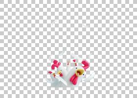 粉花卡通,洋红色,花瓣,花,心,粉红色,设计师玩具,玩具,玩具艺术,