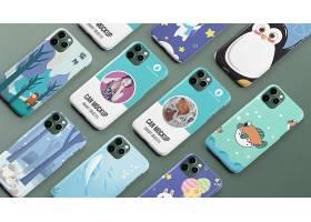 苹果11手机壳保护套手机套智能样机