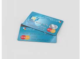 信用卡贴图样机