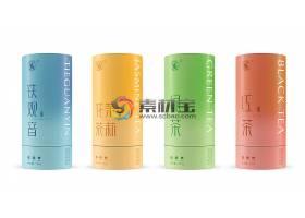 茶叶罐子物品外观外包装智能样机