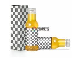塑料瓶物品外观外包装智能样机