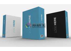 盒子物品外观外包装智能样机