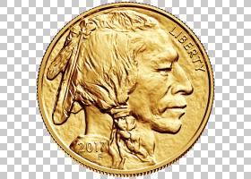 金币,一角硬币,材料,古代史,钱,金属,货币,细度,美国野牛,金条,盎