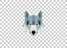 几何形状背景,鼻部,,三角形,多边形,狐狸,几何体,动物,,墙贴花,猫