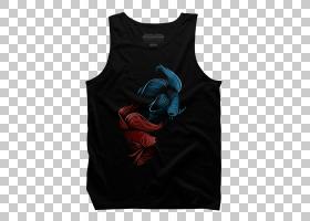 T恤背心,T恤衫,顶部,背心,Microsoft Azure,脖子,青色,绿松石,镀