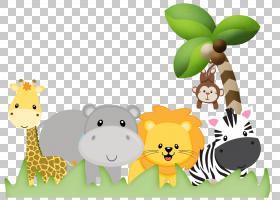 丛林背景,食物,草,长颈鹿科,花,动画片,儿童,标签,粘合剂,绘图,动