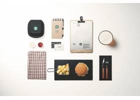 星巴克咖啡品牌VI贴图样机 (7)