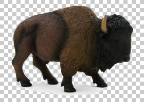 美国野牛野生动物,公牛,动物形象,鼻部,公牛,野牛,玩具,喇叭,动物