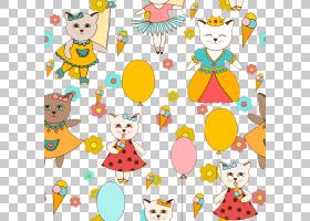 派对帽子卡通,幸福,蹒跚学步的孩子,线路,微笑,黄色,儿童艺术,派