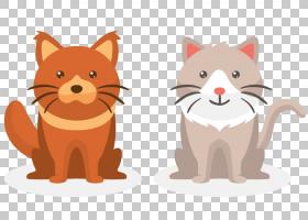 猫狗卡通,胡须,尾巴,鼻部,猫,剪影,动画片,宠物,可爱,狗,凯蒂猫,