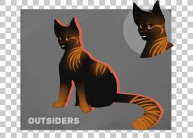 猫卡通,尾巴,性格,动画片,猫,胡须,黑猫,