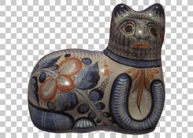 猫卡通,鼻部,猫,墨西哥,引脚,民间艺术,玻璃杯,小雕像,罐子,手工