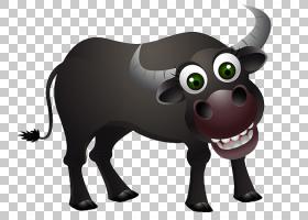 绵羊卡通,公牛,鼻部,喇叭,奶牛,公牛,牲畜,羊,美国野牛,动画片,幽