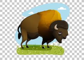 绵羊卡通,草,牲畜,奶牛,鼻部,公牛,喇叭,动画片,野牛,牛只,漫画,