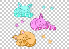 小猫卡通,动画片,线路,动物形象,尾巴,爪子,粉红色,可爱,黑猫,小