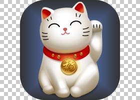 猫卡通,材料,技术,胡须,猫,主屏幕,游戏,陶瓷,日本短尾鱼,运气好,