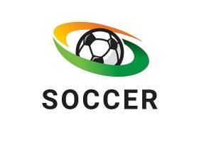 创意个性矢量图足球LOGO设计足球标志图案设计