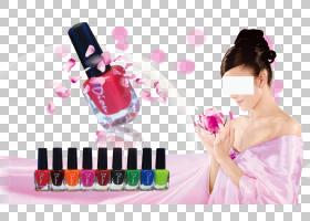 指甲油粉色,手指,洋红色,皮肤,指甲护理,嘴唇,手,健康美容,睫毛,图片