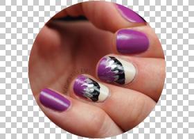钉钉,指甲护理,紫色,手指,手,指甲油,人造指甲,手模型,修指甲,钉图片