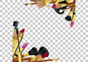 铅笔剪贴画,黄色,健康美容,铅笔,面粉,睫毛膏,Mac化妆品,胭脂,唇图片