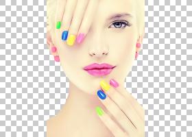 面部皮肤、唇部指甲美容,下巴,指甲油,鼻子,指甲护理,脸颊,美丽,图片