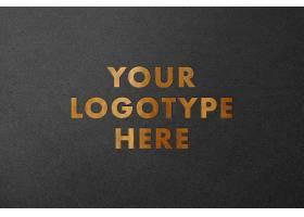 特种纸主题字体设计