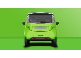 汽车车身广告车载广告粘贴位智能样机