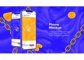 手机链接海报设计