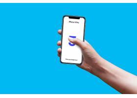 手势智能手机展示效果样机