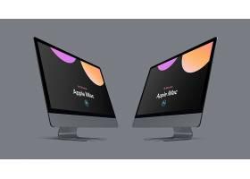 高清个性电脑一体机iMac样机系列素材