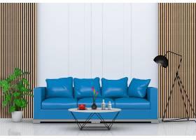 高清简约风客厅室内现代风格沙发装饰图片素材