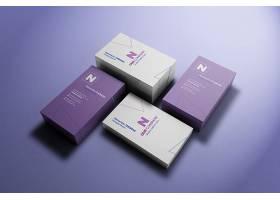 高清高档创意商务名片卡片设计模板