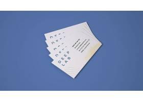 高清高檔創意簡約商務名片卡片設計模板