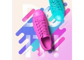 女性鞋子VI样机
