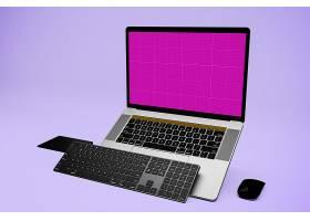 高清时尚潮流苹果笔记本 pro 版 元素样板
