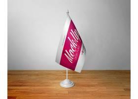 高檔大氣簡約風桌旗樣機設計素材桌旗設計