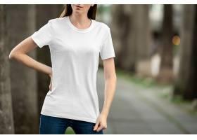 女士空白短袖T恤