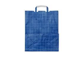 购物纸袋外观贴图贴纸智能样机素材