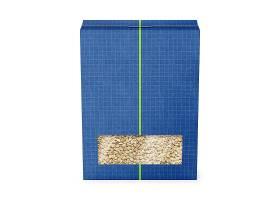 麦片谷物外观贴图贴纸智能样机素材