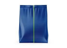 膨化包装袋外观贴图贴纸智能样机素材