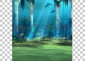 水下场景背景素材 (6)